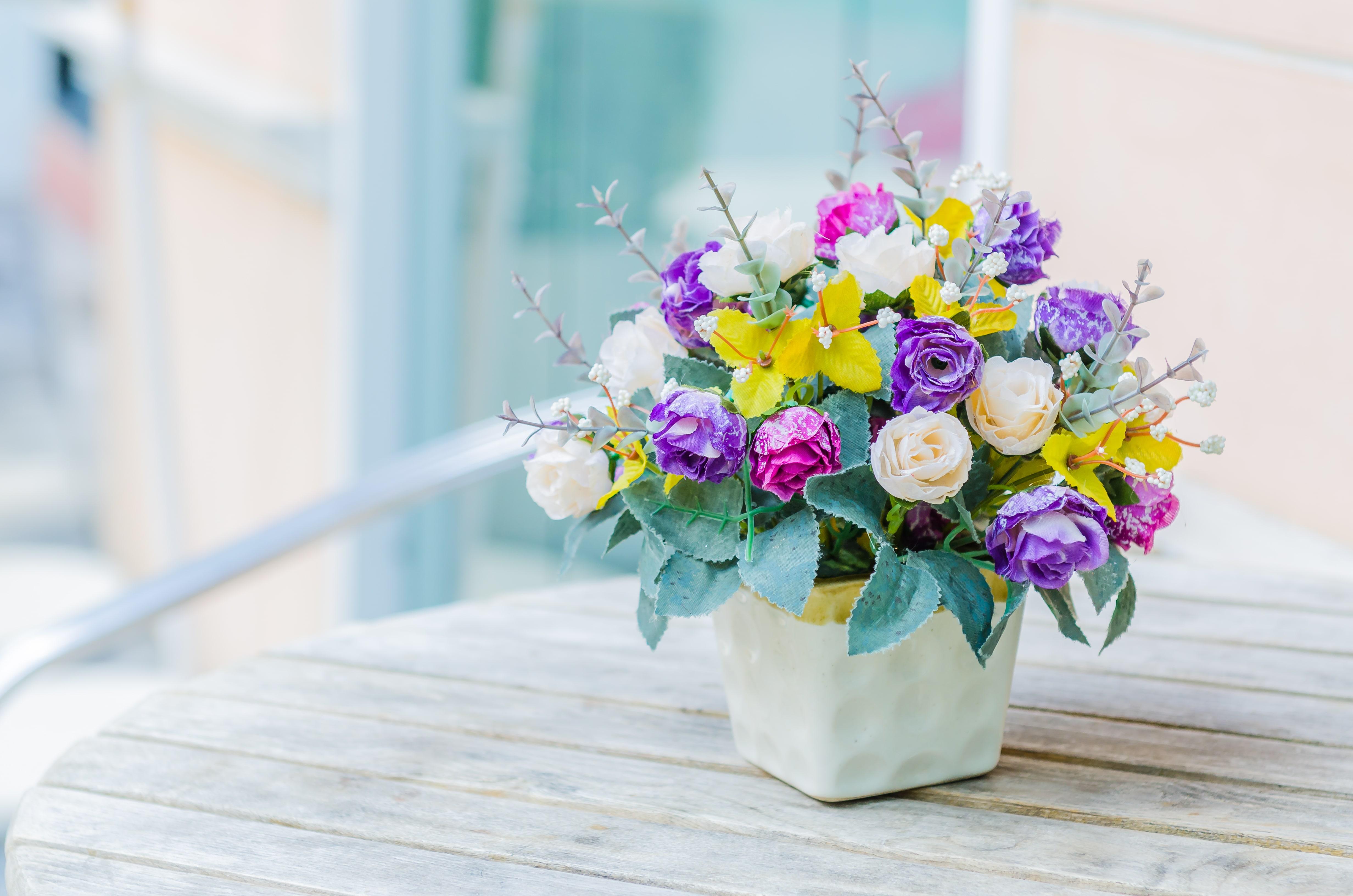 造花を贈る時の注意点